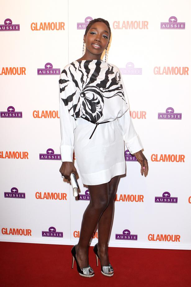 Estelle Glamour Awards Kirkwood shoes Stella Dress