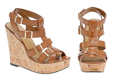 Brown Brozek wedges €75 aldo