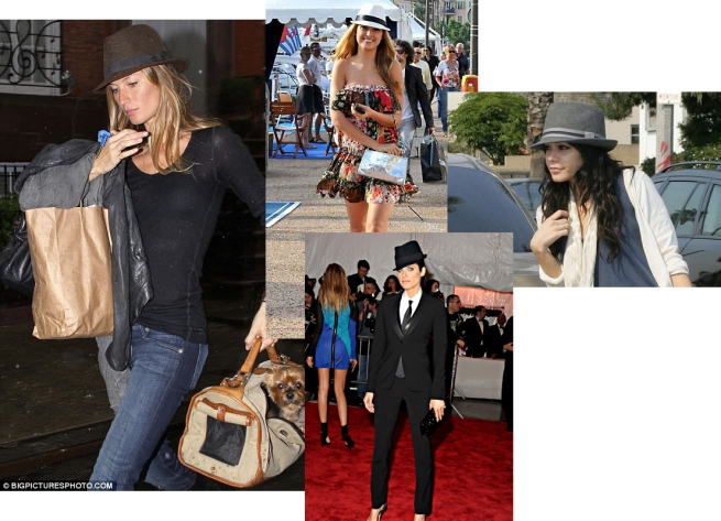 celebrities trilbys