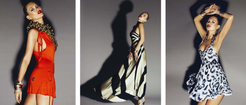 Kate Moss High Summer 09 dresses