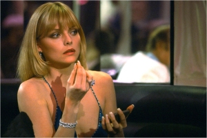 Michelle pfeiffer makeup Scarface