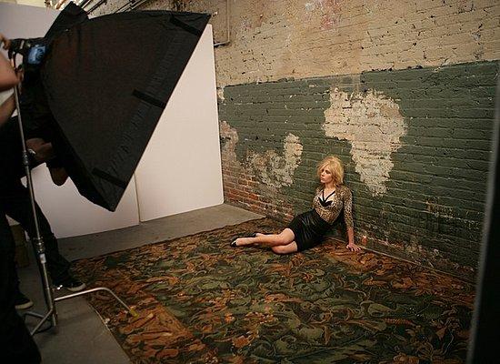 Scarlett Johanssen Mango Shoot
