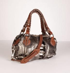 silver-pauric-sweeney Python Bag