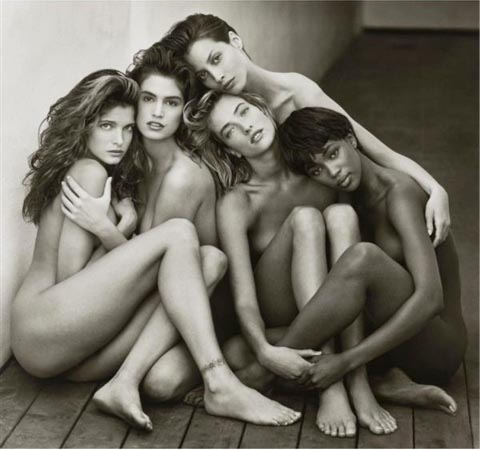 stephanie-cindy-christy-tatjana-naomia-by-herb-ritts