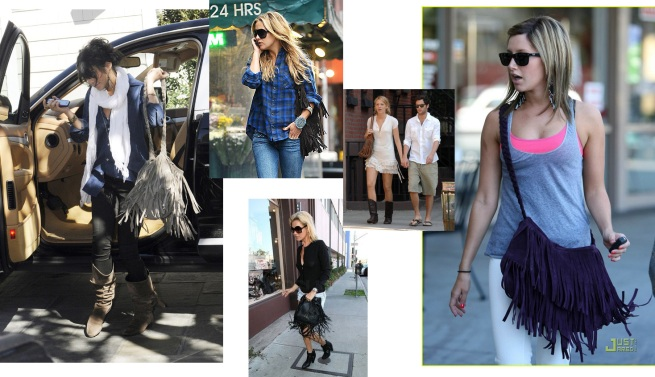 Celebs with Fringe Bags