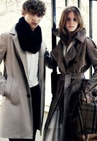 Emma Watson Burberry AW09 5