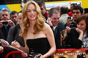 Heather Graham signing Autographs Dublin