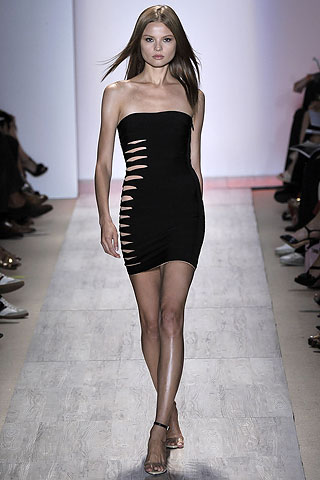 Herve leger bandage cutout dress SS09 RTW
