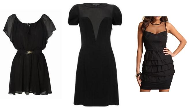 High Street Sheer Dresses