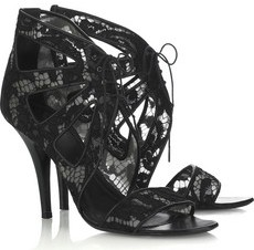 Lace Ankle Sandals Givenchy