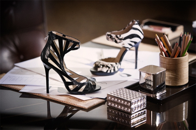 Shoes from the H&M Jimmy Choo Collection