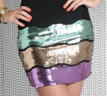 Unique Boutique Sequin Skirt £55 asos