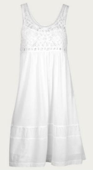 White Cotton Dress €207.10 Theory
