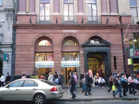 American Apparel Dublin Exterior lo res