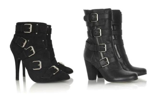 Balmain Suede buckled ankle boots €1,059.69 Chloé Multi buckle leather boots €850