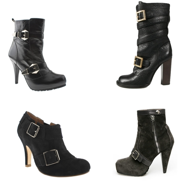 Buckle Booties AW09