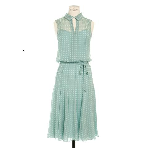 Duck egg spot dress Peter O'Brien AWear €190