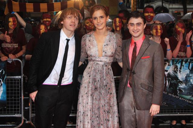 HP6 Premiere Emma Watson, Rupert Grint, Daniel Radcliffe