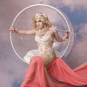 Kelly Osbourne as Glinda the Good Witch Wizard of Oz