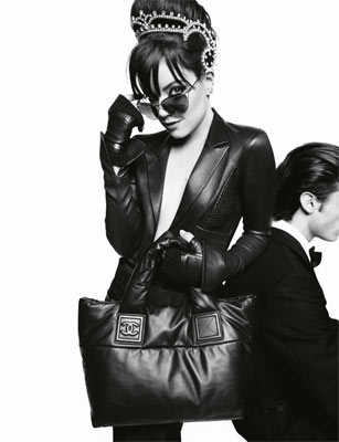 Chanel Bags Ads. Lily Allen Chanel Bags Coco