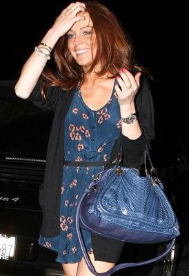 Lindsay Lohan Paraty Bag Chloé