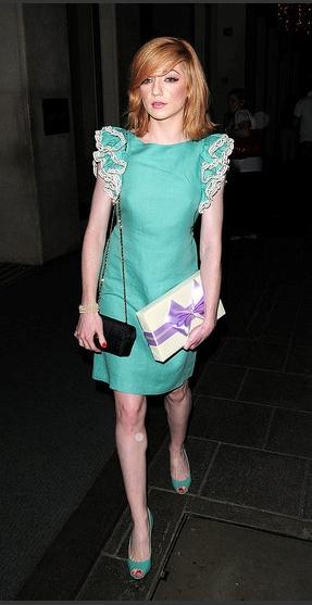 Nicola Roberts in Paul & Joe Resort 09