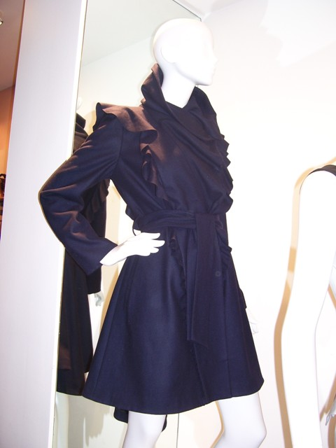 Oasis AW09 Press Preview Ruffle Duffle Coat €163