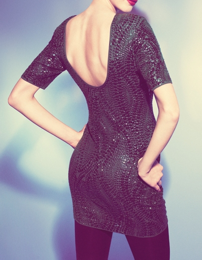 Oasis Green Sequin Dress €188