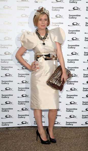 Party Roisin Murphy in D&G Shoulders Serpentine Gallery Summer