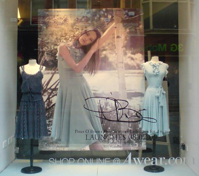 Peter O'Brien Window AWear