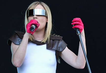 roisin murphy Visor on stage o2wireless