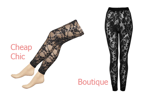 AW09 Trend Lace Tights Leggings