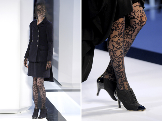 Chanel AW09 lace and detail