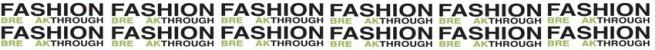 Fashion Breakthrough Logo