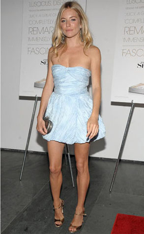 Sienna Miller in Thakoon Resort 2010
