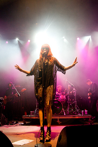 Florence and the Machine. Electric Picnic 2009. Photo: Dara Munn