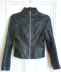 Leather Jacket vintage Topshop
