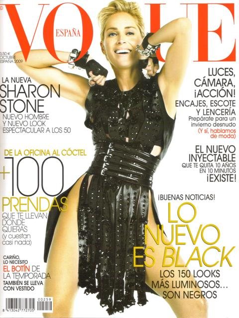 Sharon Stone Cover Vogue Espana lo res
