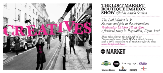 The Loft Market Boutique Fashion Show ad
