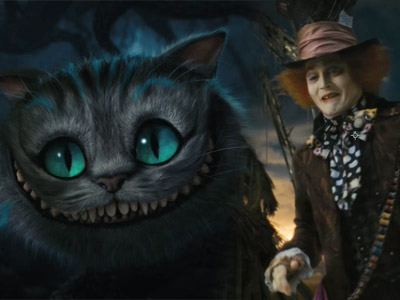 alice-in-wonderland tim burton Cheshire cat