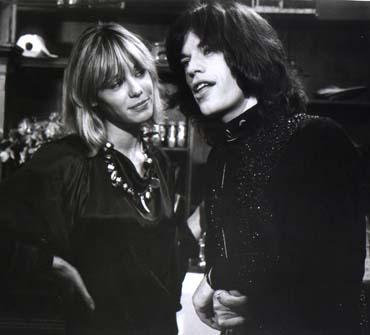 Anita Pallenburg & Jagger www.rollingstonesnet.com