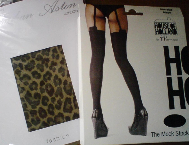 Arnotts Project Henry Holland Leopard Print Tights