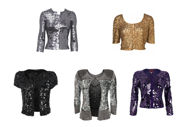AW09 Sequinned Cardigans