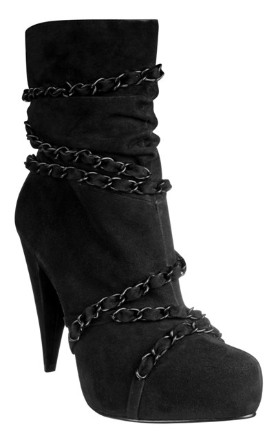 Idol Suede Chain Boot £60 Newlook