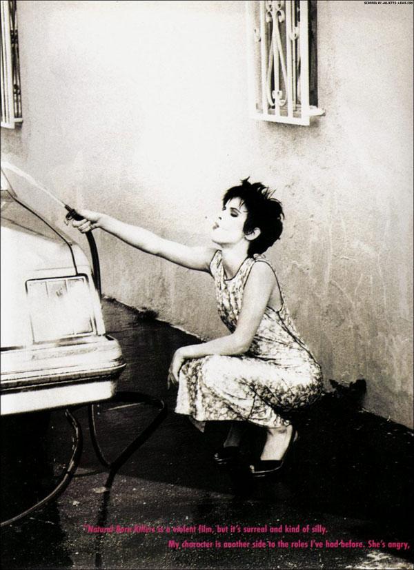 Juliette Lewis by Ellen von Unwerth 1994