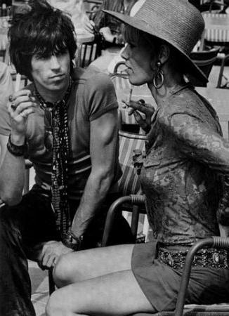 Keith and Anita Pallenberg