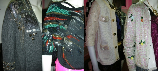 River Island Party Season 09 Embellished Cardigans