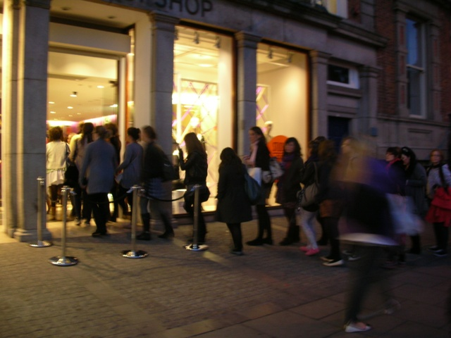 Topshop Student Night October 7th
