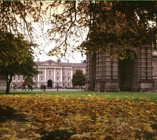 Trinity College Dublin in the Autumn