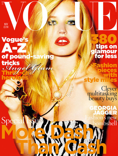 Georgia May Jagger for Vogue